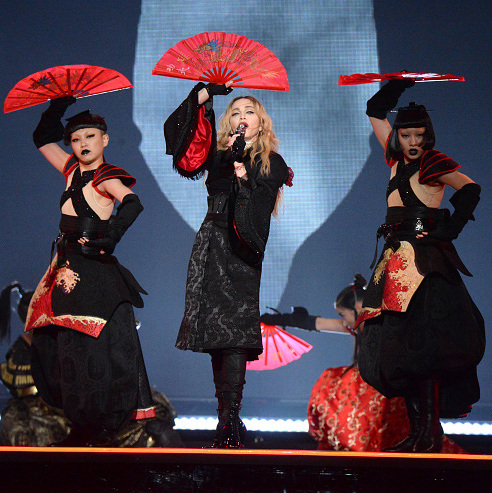 "September 10: Madonna kicked off her ""Rebel Heart"" world tour in Montreal, Quebec.