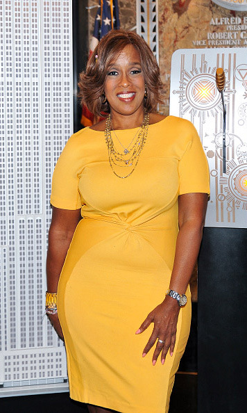 September 8: Television personality Gayle King turned the Empire State Building yellow on behalf of Pencils of Promise for National Literary Day in New York City. 