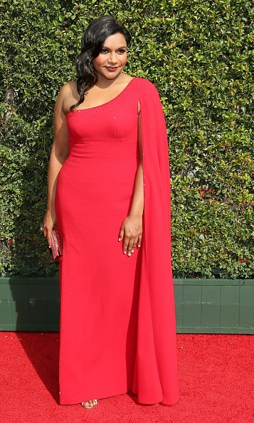 September 12: Mindy Kaling was a vision in red at the Creative Arts Emmy Awards in L.A.