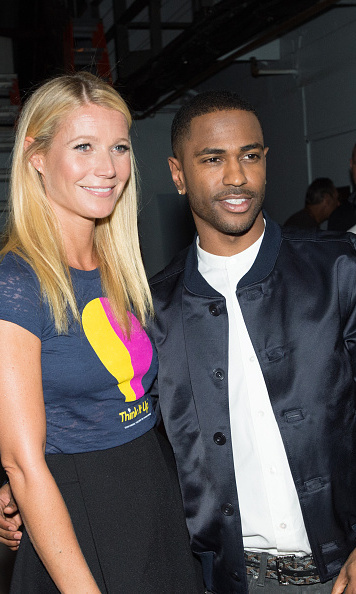 September 11: Gwyneth Paltrow hung backstage with Big Sean at the Think It Up telecast in Santa Monica.
