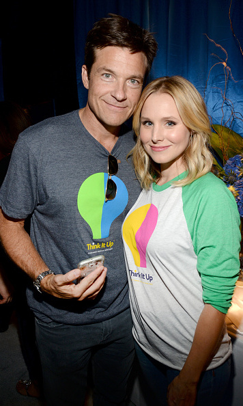 September 11: Jaseon Bateman and Kristen Bell had some fun at the Entertainment Industry Foundation's Think It Up education initiative in Santa Monica.