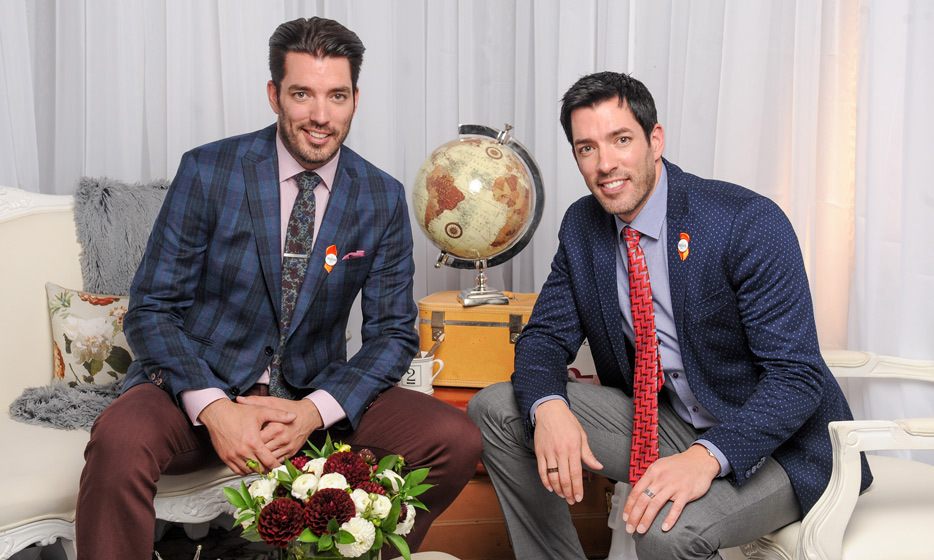 September 11: HGTV's Jonathan and Drew Scott stopped by the HELLO! Portrait Studio during the Producer's Ball at Toronto's Soho House.