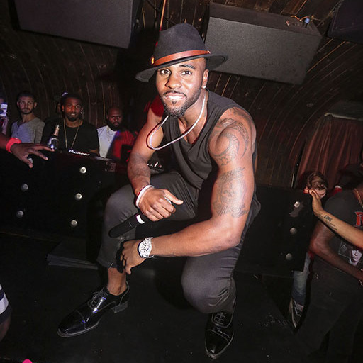 September 16: After his cover party for DuJour magazine at Avenue, Jason Derulo rocked the house at NYC's 1 OAK in honor of his 26th birthday. 