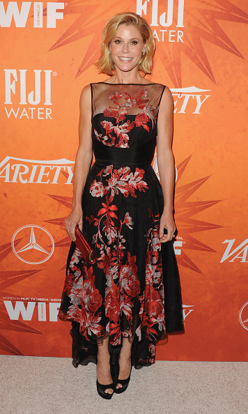 "September 18: Julie Bowen dazzled on the red carpet of Variety's Women in Film pre-Emmy celebration where she shared with reporters of her 'Modern Family' co-star Sofia Vergara and Joe Manganiello: ""You see them together, and there's a part of her that kind of melts. It warms your heart to see that because it's not all the time but you can see there's an aspect to this relationship that is very, how shall we say, primal.""