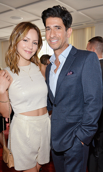 September 19: Katharine McPhee caught up with Raza Jaffrey at the 2015 BAFTA Los Angeles TV Tea at SLS Hotel.