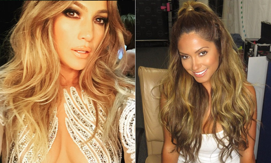Who's who? Gorgeous Jessica Burciaga has caused fans to do a double take with her Instagram shots in which she looks the spitting image of Jennifer Lopez.