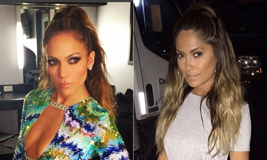 "The model's snaps show her striking resemblance to the star, attracting over 1.4 million followers and thousands of comments that she ""looks like J.Lo"".