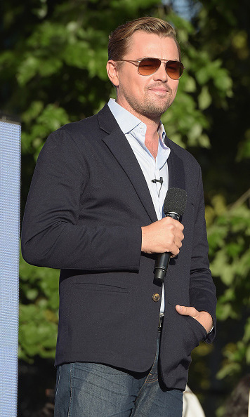 Is that you Leo? Climate change advocate and actor Leonardo DiCaprio debuted his new clean cut look. 