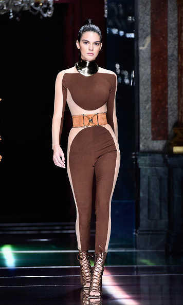 October 1: Work it Kenny! Kendall Jenner strutted her stuff during the Balmain presentation during Paris Fashion Week.
