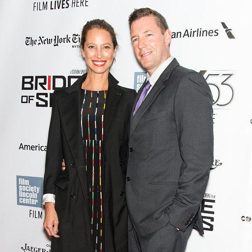 October 4: Christy Turlington and Ed Burns made it a date night during the New York Film Festival screening of 'Bridge of Spies.'