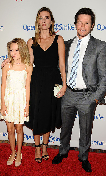 October 2: Mark Wahlberg and wife Rhea brought their daughter Ella out to support Operation Smile during their gala in L.A. at the Beverly Wilshire.