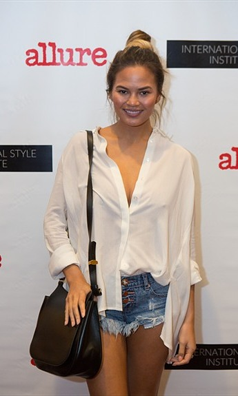 October 2: Chrissy Teigen showed off her casual side during The International Style Institute at L.A.'s The Grove presented by Anita Patrickson and Simply Inc. 