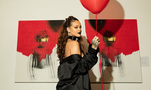 October 7: 'ANTI' makes 8! Rihanna announced the name of her eighth studio album and cover art during a celebration in L.A.. 