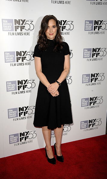October 6: Winona Ryder attended the 'Experimenter' premiere during the New York City Film Festival. 