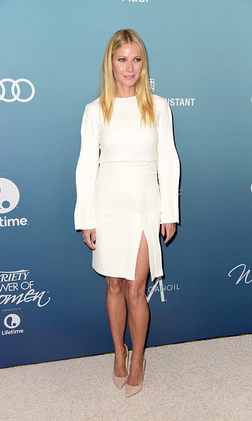 October 9: Gwyneth Paltrow wore Brandon Maxwell during Variety's Power of Women luncheon in Los Angeles. 