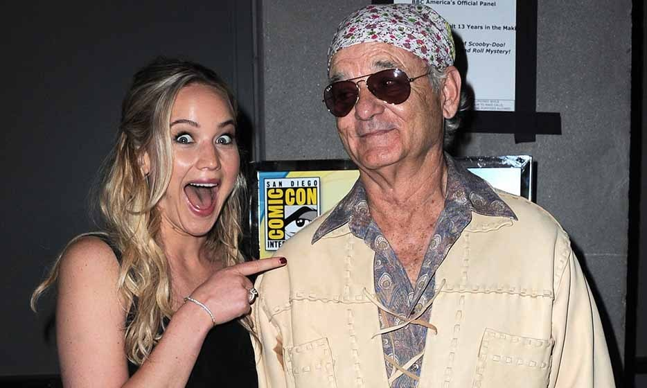 Bill Murray made Jennifer's day at this year's Comic-Con convention in San Diego.
