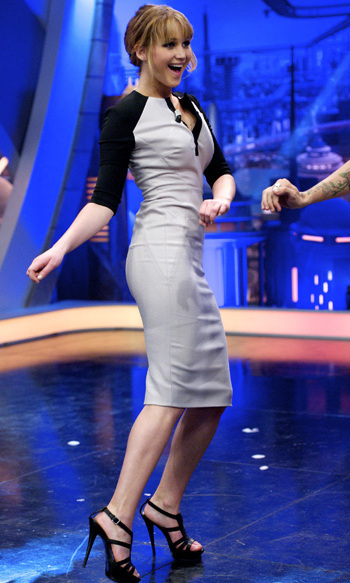 "Just bust a move! While promoting 'The Hunger Games,' Jennifer stopped by Madrid's ""El Hormiguero"" TV show in April 2012, showing off some serious moves and shooting a bow and arrow.