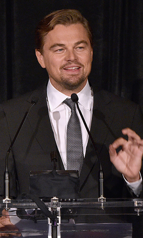October 15: Looking good, Leo! Leonardo DiCaprio took the stage during the Directors Guild of America Honors in New York City. 