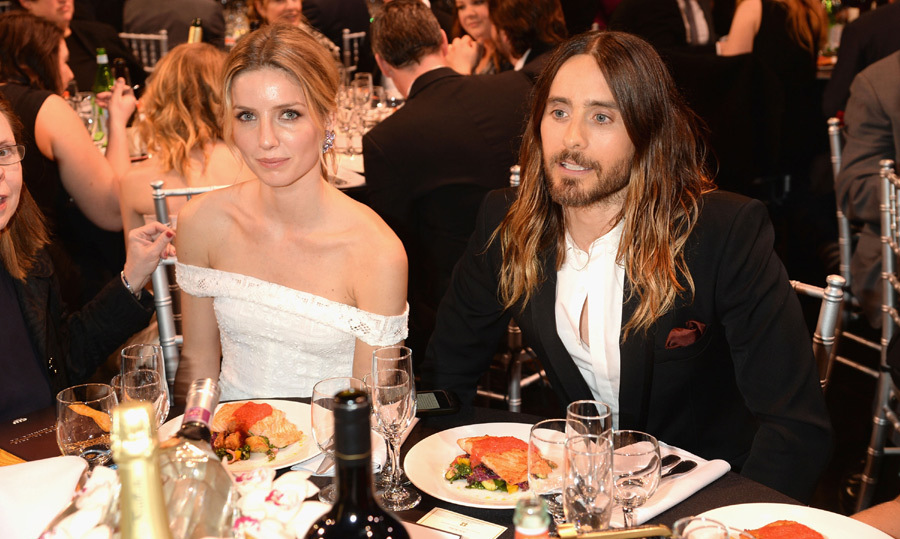 Annabelle, with Jared Leto at the 2014 Critics' Choice Movie Awards, was born in Oxford, England in 1984, but spent much of her childhood in Portugal. She speaks fluent English, Portuguese, French and Spanish. 