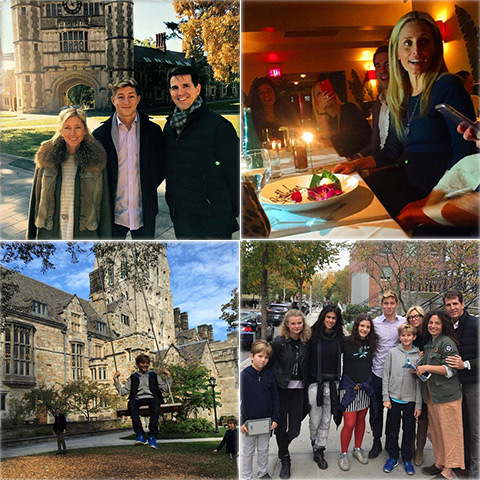 Princess Marie-Chantal had a busy week escorting her son Prince Constantine-Alexios around several Ivy League universities, bumping into Tatiana Von Furstenberg and her daughter Antonia and celebrating sister Pia's birthday.