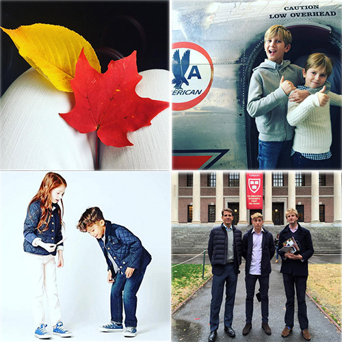Princess Marie-Chantal's fall tour of U.S. universities continued with a stop at Harvard as she also took the time to promote her childrens wear line. 