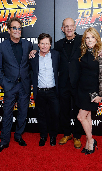 October 21: The future is now! The cast of 'Back to the Future' celebrated the film's 30th anniversary with a special screening in New York City.