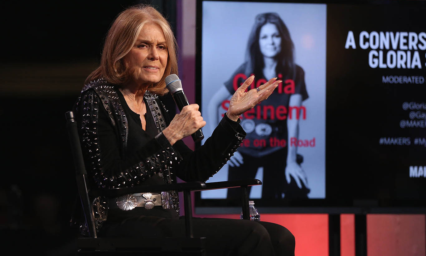 October 20: AOL Maker's and Gloria Steinem celebrated her new book 'My Life on the Road' in New York City. 