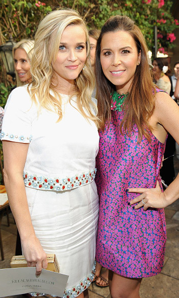 October 20: Reese Witherspoon and Monique Lhuillier attended the CFDA Fashion Fund Show and Tea in West Hollywood.