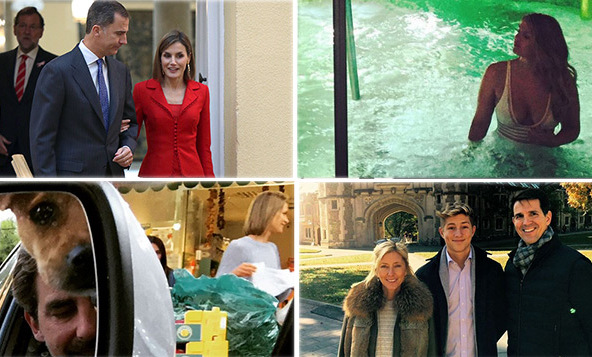 The Greek royals were touring U.S. universities while Queen Letizia was fighting global hunger in Italy. Here are the royal highlights of the week.