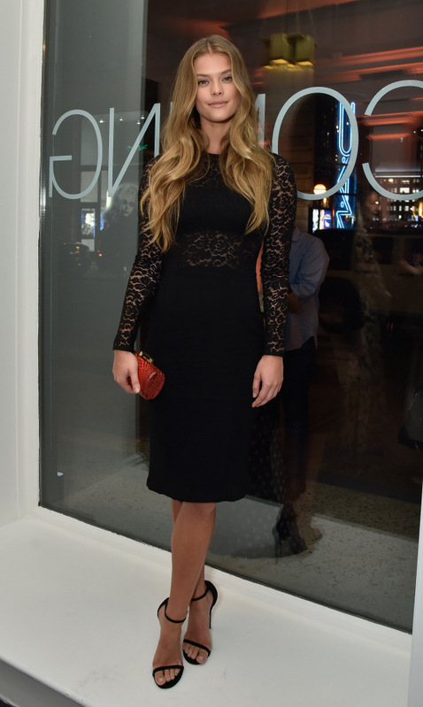 October 22: Nina Agdal made her way to the Restoration Hardware unveiling of the RH Modern at RH New York, The Gallery in the Historic Flatiron District.