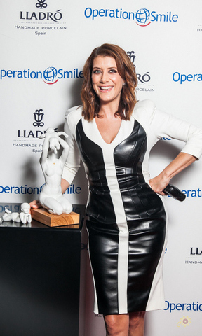 October 22: Kate Walsh supported Operation Smile and Lladro's New Beginnings event where guests snacked on light bites from STK in Beverly Hills.