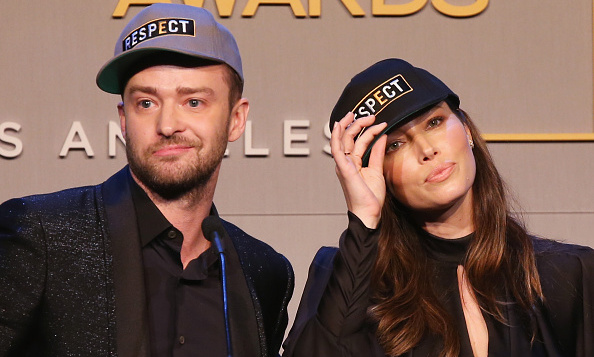 October 23: Justin Timberlake and Jessica Biel were all about the R-E-S-P-E-C-T at the GLSEN Respect Awards in Beverly Hills.