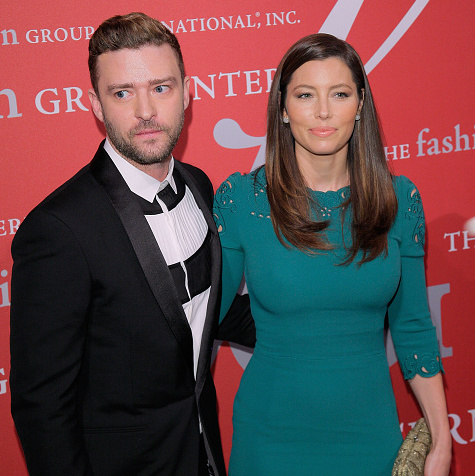 October 22: Justin Timberlake and Jessica Biel had a date night in NYC at the 2015 Fashion Group International Night Of Stars Gala.