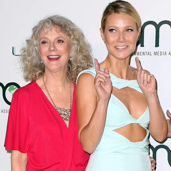 October 24: Blythe Danner and Gwyneth Paltrow made it a mother/daughter affair at the 25th annual Environmental Media Association Awards presented by Toyota and Lexus at Warner Bros. Studios in L.A.
