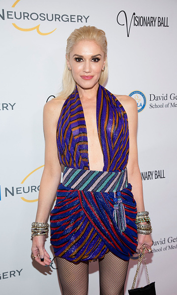 October 29: Gwen Stefani looked hella good at the 2015 UCLA Neurosurgery Visionary Ball in Beverly Hills.