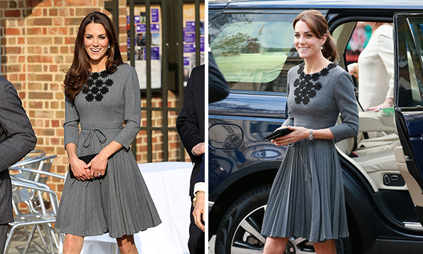 Chic and thrifty! Kate Middleton isn't afraid to wear the same outfit twice, and manages to always recycle them with her signature style. <br>