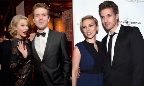 Good genes run in these celebrity families. It can't be easy having a famous actor or musician as a sibling, but something tells us these guys get along just fine. Check out Rosie Huntington-Whiteley, Emma Watson, Taylor Swift's (plus many more) equally dreamy brothers.