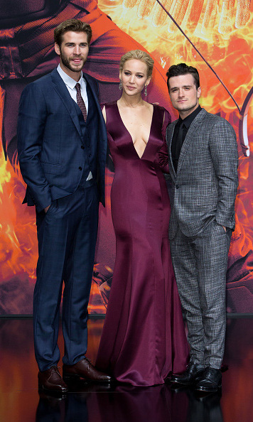 November 4: The beginning of the end! Liam Hemsworth, Jennifer Lawrence and Josh Hutcherson shared the red carpet in Berlin one last time for 'The Hunger Games: Mockingjay Part 2' premiere. 