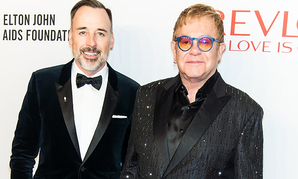 November 2: The man of the hour! Elton John and David Furnish were a dynamic duo at the 14th Annual Elton John AIDS Foundation An Enduring Vision benefit.