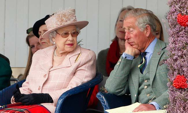 Prince Charles often takes a nap while at dinner parties. Hostesses in the know continue talking and no one notices. Even two minutes 'out' is said to refresh him completely.<br>