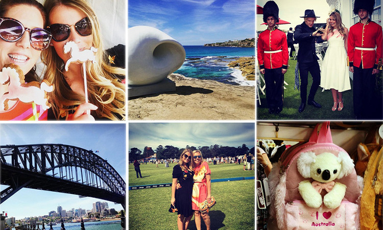 More postcards from Down Under courtesy of Lady Kitty Spencer as she took in the Jeep Melbourne Polo Cup as well as popular sights Bondi Beach and Sydney Harbour Bridge.<br>