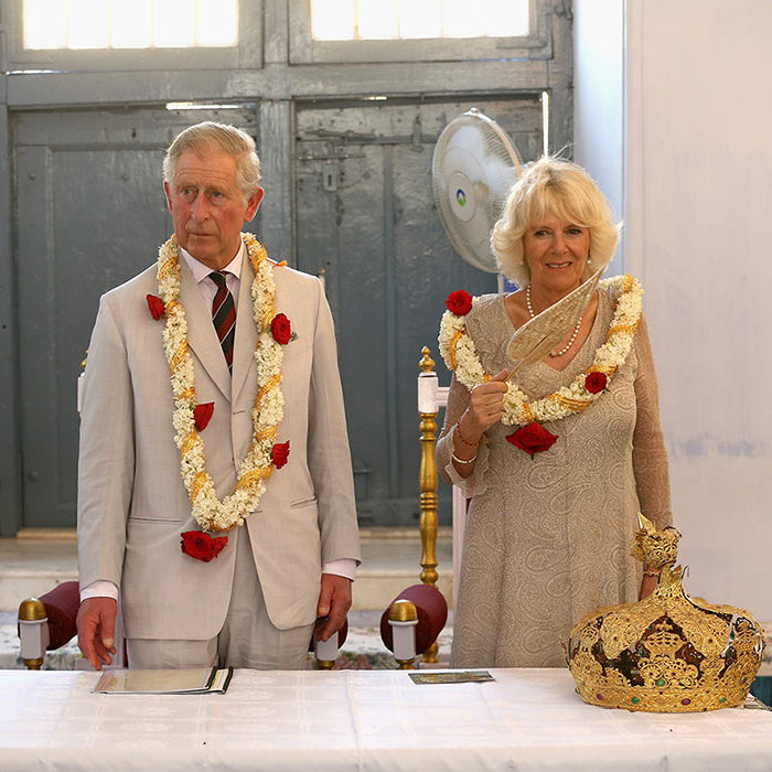 Prince Charles and the Duchess of Cornwall paid a visit to the Jewish Synagogue during a visit to Jew Town on day 9 of their official visit to India in 2013 in Kochi.