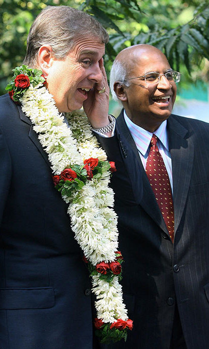 Prince Andrew visited Mumbai in 2006.