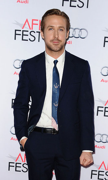 November 12: Hey boy, you still look amazing!  Ryan Gosling kicked off his birthday week in style at the premiere of 'The Big Short' at the 2015 AFI Fest at the TCL Chinese 6 Theatre in Hollywood.