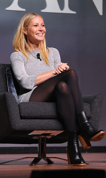 November 10: A wealth of Hollywood knowledge! Gwyneth Paltrow enjoyed her conversation during the Fast Company Innovation Festival in New York City. 