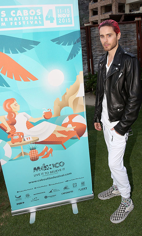 November 11: Keeping it hott! Jared Leto attended the Los Cabos International Film Festival in Cabo San Lucas, Mexico. 