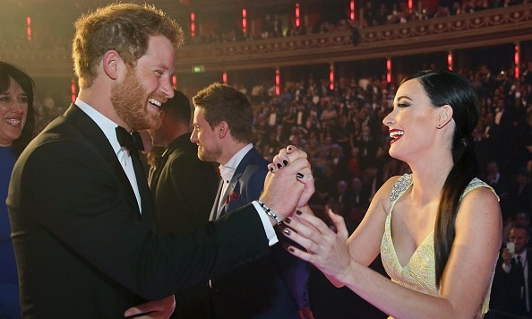"What protocol? The Prince looked thrilled to say hi to Kacey Musgraves, giving the country singer a right royal high-five. She posted the pic to her Instagram account with the caption, ""When Texas meets Royalty.  #casual #highfives #idontknowtherules."" <br>