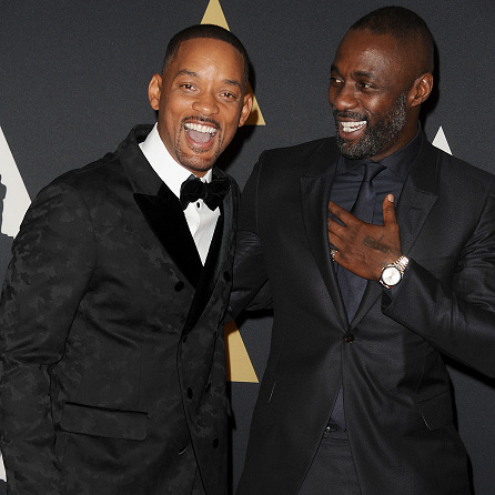 November 14: Will Smith and Idrid Elba were all laughs at the 7th annual Governors Awards at The Ray Dolby Ballroom at Hollywood & Highland Center.