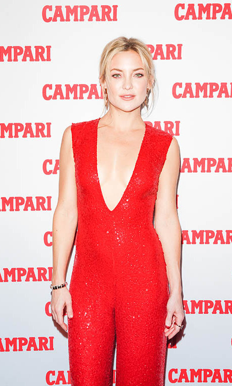 November 18: Party girl! Kate Hudson was red hot during the Campari calendar party at Top of the Standard in New York City. 