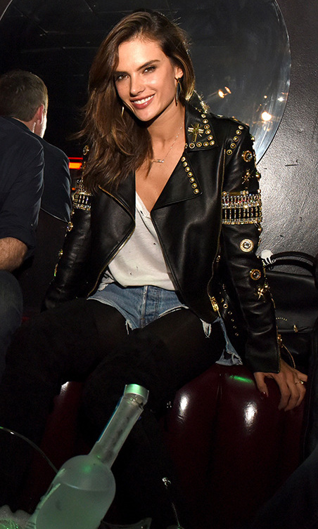 November 17: Supermodel status! Alessandra Ambrosio partied at the grand re-launch of Viper Room sponsored by 50 Bleu in West Hollywood. 